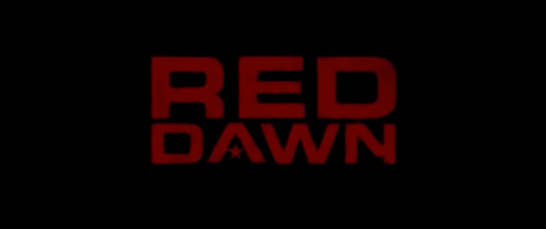 Red Dawn (2012) title screen