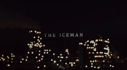 The Iceman title screen