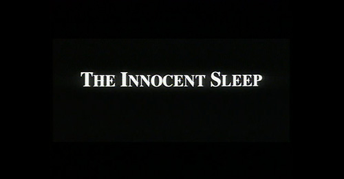 The Innocent Sleep title screen