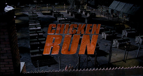 Chicken Run title screen