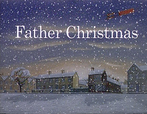 Father Christmas title screen