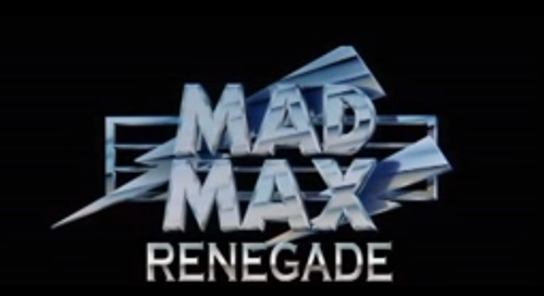Mad Max Renegade title screen