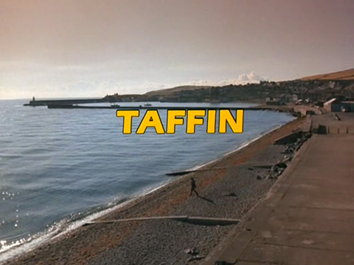 Taffin title screen