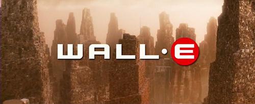 WALL-E title screen