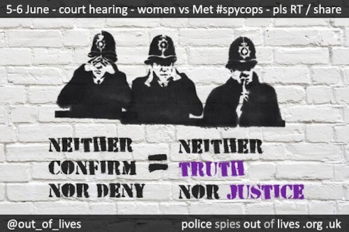 'Neither Confirm Nor Deny' = Neither TRUTH nor JUSTICE