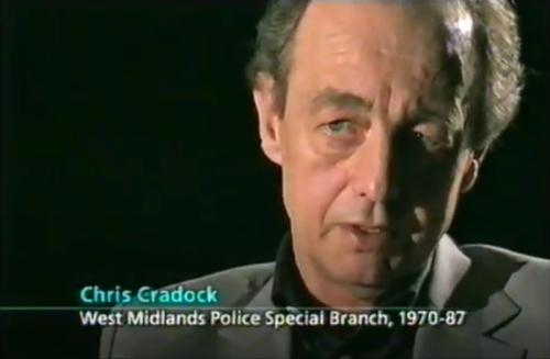 Chris Cradock from 'True Spies'