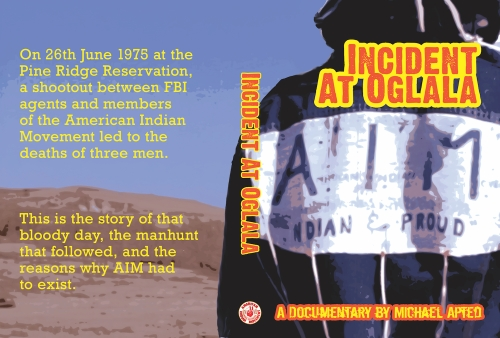 Incident At Oglala DVD cover