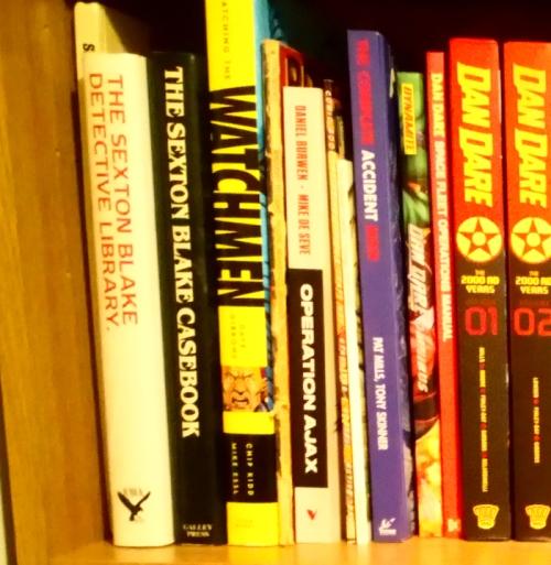 Operation Ajax on the bookshelf